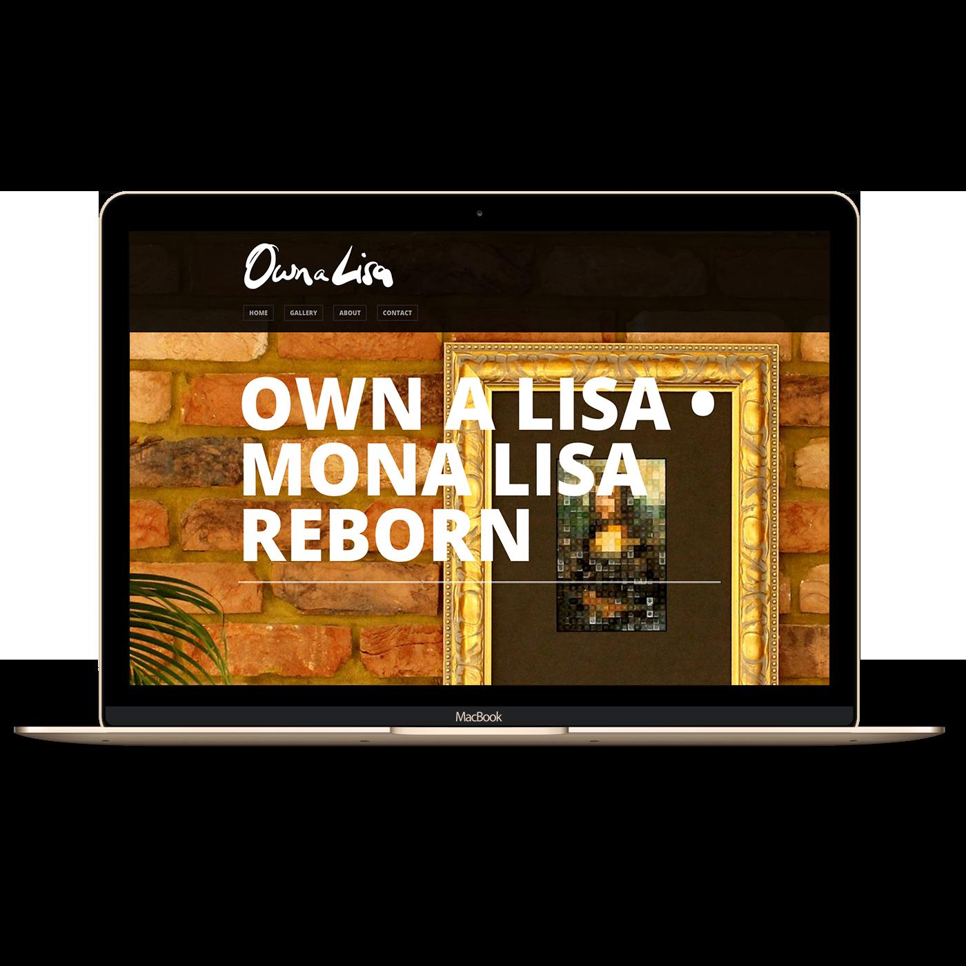 Own A Lisa Website image