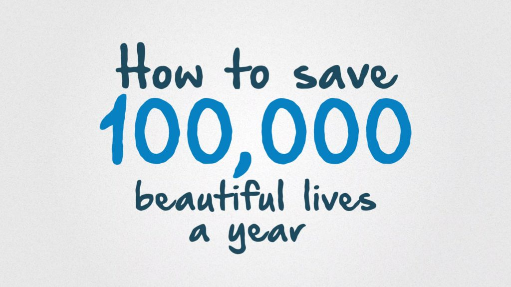 100000 beautiful lives