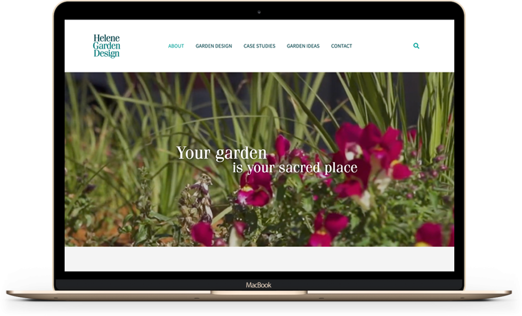 Helene Garden Design website
