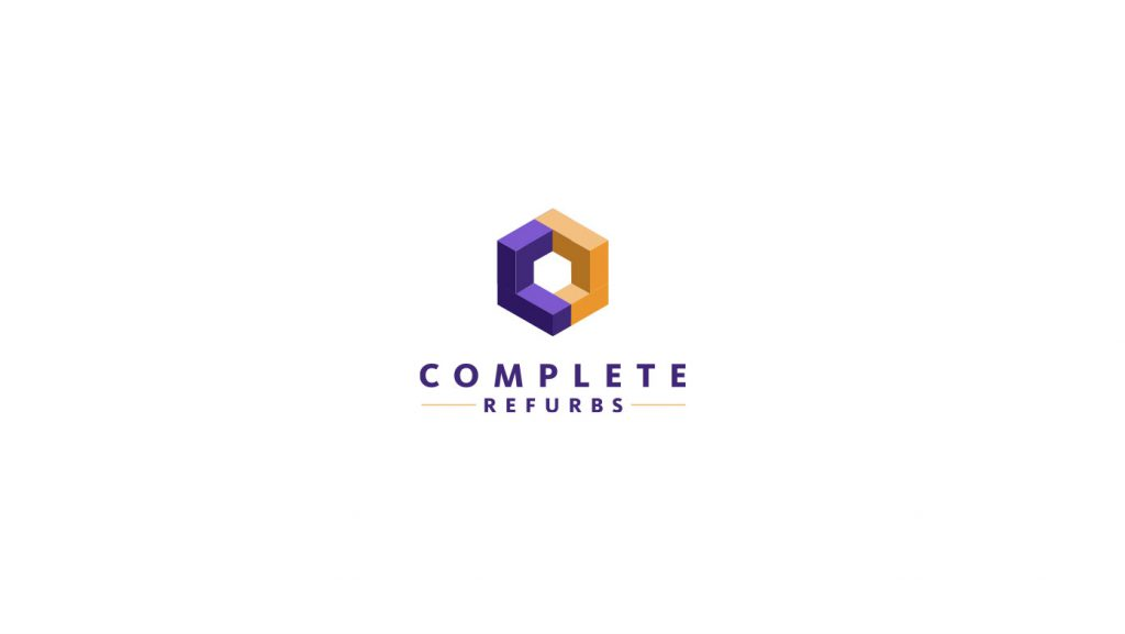 Complete Refurbs logo concept 03