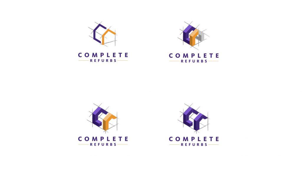 Complete Refurbs logo concept 04