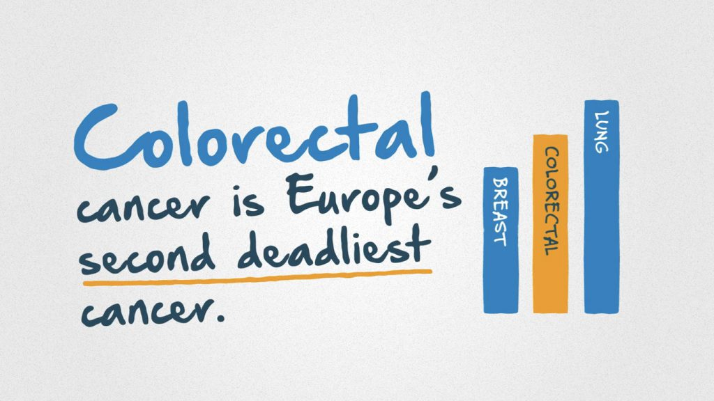 Digestive Cancers Europe animation colorectal