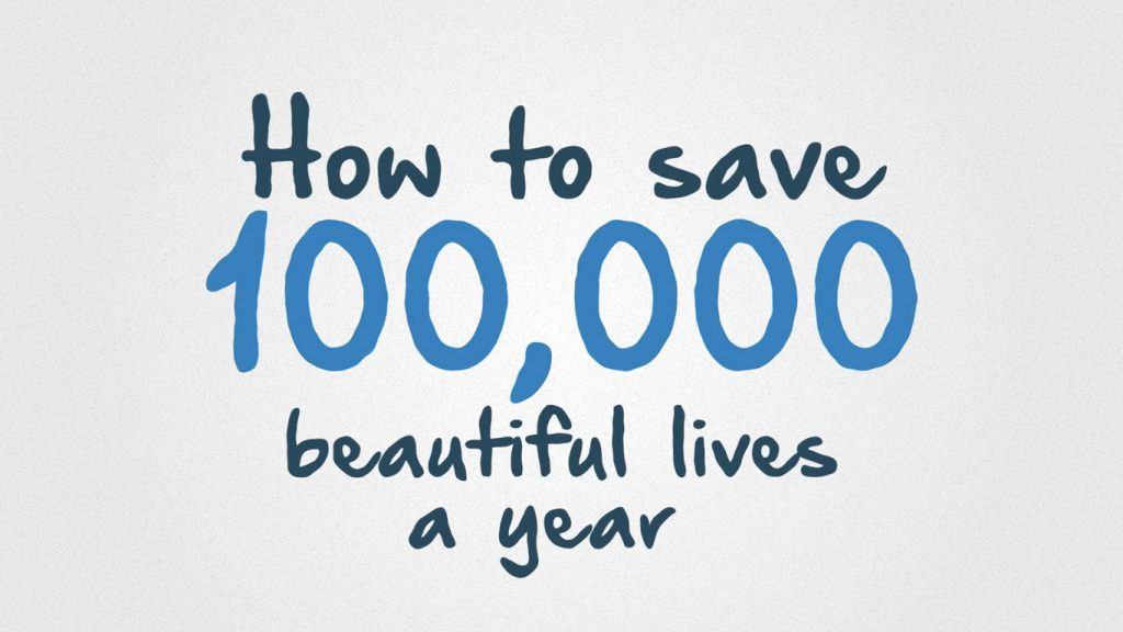 Digestive Cancers Europe animation how to save 100000 beautiful lives a year