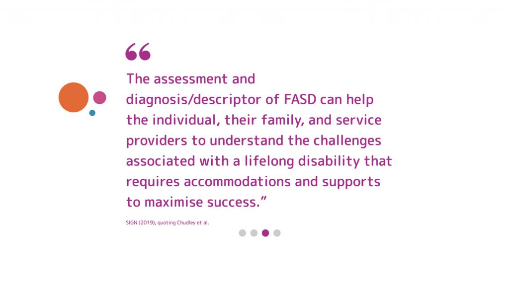 National FASD quote