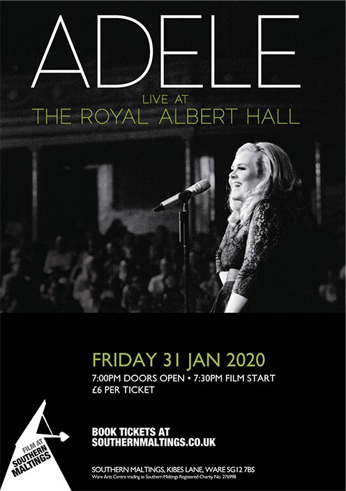 Southern Maltings poster Adele